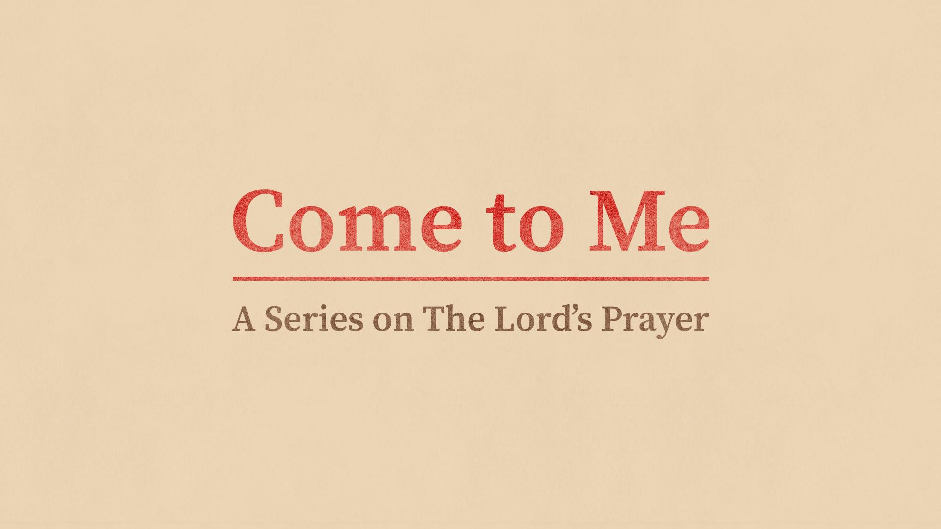 2020 Lenten Prayer Guide   Come To Me
